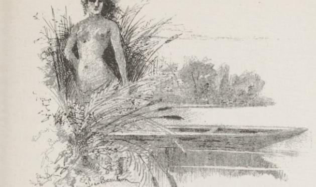 Amand Silvestre, En pleine fantaisie, «Ouverture de la pêche», 1884