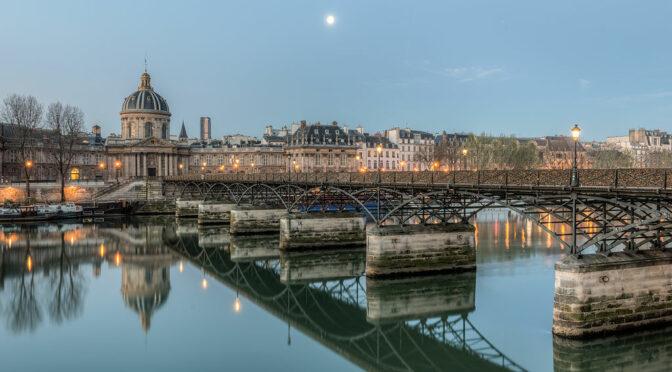 Franchir la Seine: Une variété de ponts