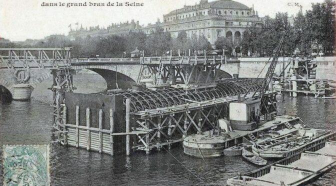 Le métro sous la Seine: L'histoire de la ligne 4